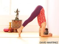 Patricia Sullivan's journey from injury to health - how she learned to do headstand safely.