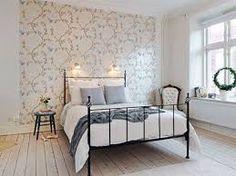 Billedresultat for decorating with wallpaper