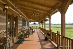 Paris Vacation Cabin by Honest Abe Log Homes, Inc. - MyWoodHome.com