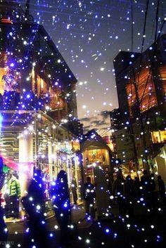 Luces de Navidad en Osaka, Japón