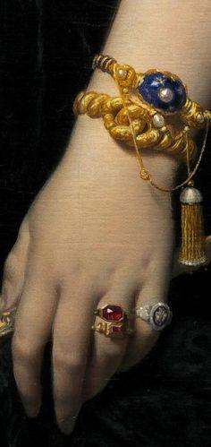 Madame Moitiessier (Détails) Jean Baptiste Ingres