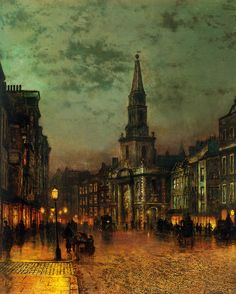 John Atkinson Grimshaw (1836-1893) was a Victorian-era painter,...