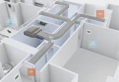Confort y eficiencia en la climatización por conductos gracias a Airzone. Con el nuevo sistema de aire acondicionado por zonas ya es posible elegir temperaturas independientes en cada habitación o espacio de trabajo. http://www.sanchezpla.es/confort-y-eficiencia-en-la-climatizacion-por-conductos-gracias-airzone/