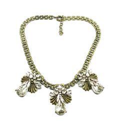 Eagle crystal necklace