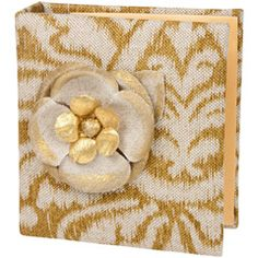 Spice Linen with Flower Photo Album JSSPA40