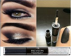 3 in 1 Revlon Photoready Eye Art Lid  eyeLiner  Lash, Black Brilliance 0.1 Fl Oz Shadow: 0.1 fluid ounce liquid 3ml Sparkle: 0.1 fluid ounce liquid 3ml This product is made in United States Revlon Photoready Eye Art Lid Line Lash, Black Brilliance, 0.1 Fl Oz Dazzle with the latest in makeup artistry. Coordinating shadow duos with satin and sparkle finishes create unique, customized eye looks. Shadow: 0.1 fluid ounce liquid 3ml. Sparkle: 0.1 fluid ounce liquid 3ml. Lid   line   lash. This…