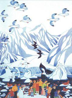 A favorite Alaskan artist Rie Munoz