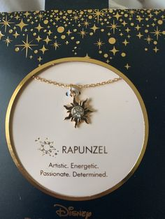 Disney Rapunzel Princess Necklace on Mercari Disney Princess Jewelry, Disney Couture Jewelry, Disney Jewelry, Disney Necklace, Cute Jewelry, Jewelry Accessories, Jewelry Necklaces, Charm Bracelets, Fashion Accessories