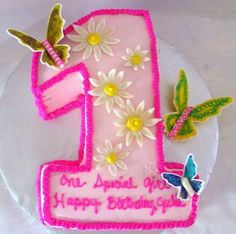 1st Birthday Cake - How to make 1st birthday cake for your baby., 400x397 in 59.8KB