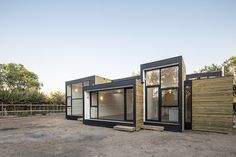 Energy-efficient Casa SIP m3 house is made from stackable pref...