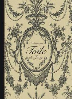 I have a massive toile de juoy obsession...lets cover EVERYTHING in toile!!!