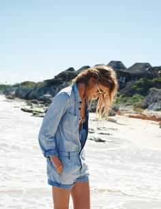 denim on denim #planetblue