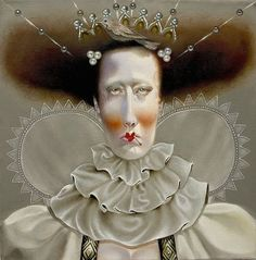Beautiful Portraits by Troy Brooks -- I like it.  Not all queens are beautiful on the outside, and maybe not even on the inside.