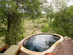 Our own personal pool, overlooking the animals @ Lukimbi Lodge, Kruger Park, South Africa. Gosh, I want to go back on safari! - photo credits: Greg Notch