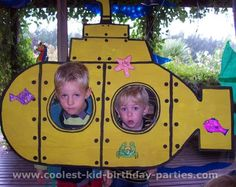 One Day When I Have Time: Under the Sea Birthday Party