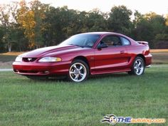 1997 Ford Mustang GT - just like the one I had! ;)