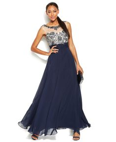 Prom Dresses at Macy's come in all styles and colors. Shop an amazing selection of the latest style Prom Dresses and find Your dress for Prom! Prom Dresses 2018, Junior Bridesmaid Dresses, Formal Dresses, Bridesmaids, Blue Ball Gowns, Wedding Dress Trends, Mothers Dresses, Gowns Online, Review Dresses