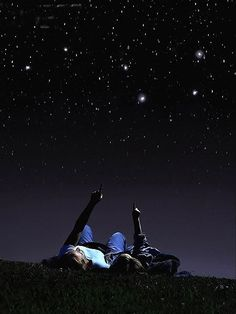 date idea :: drive out in the country, go look at the stars and listen to music
