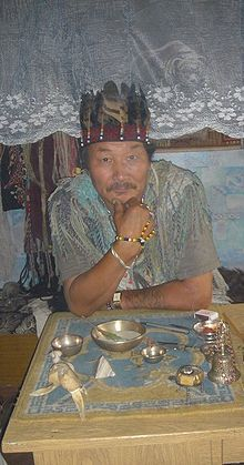 Shaman Doctor of Kyzyl, 2005. Practitioner of Tuvan Shamanism. Shamanism - Wikipedia, the free encyclopedia