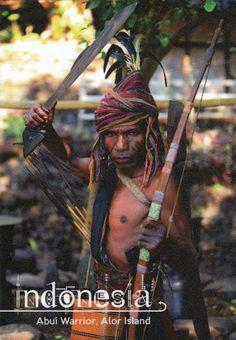 INDONESIA (Lesser Sunda) - Abui people