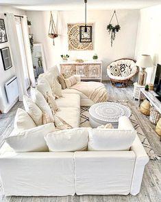 My Living Room, Home And Living, Estilo Interior, Bohemian Bedroom Decor, Living Room Inspiration, Interior Design, Furniture, Home Decor, Moment