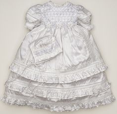 Burbvus Christening Dress Modelo G004 #christeningdress