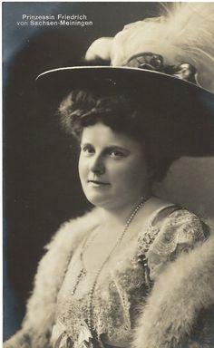 Princess Friedrich of Saxe-Meiningen