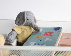 baby journal designed by Studio April for Cicada Books with illustrations by Yasmeen Ismail