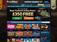 Roxy Palace casino review - for top games visit http://bestrealmoneycasinos.co.uk/reviews/roxy-palace/