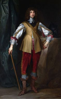 Portrait of Prince Rupert (1619-1682) by Sir Anthony van Dyck and assistants from his workshop. 1636-1637 oil on canvas. Son of the exiled king and queen of Bohemia and nephew of King Charles I of England, also count of the Rhine Palatinate in Germany.