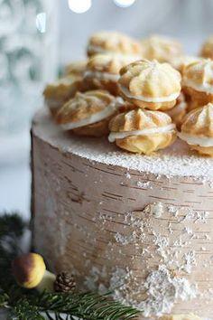 Illéskrisz Konyhája: ~ CITROMOS KEKSZ ~ Biscuits, Sweet And Salty, No Bake Desserts, Caramel, Cake Decorating, Brunch, Food And Drink, Pudding, Favorite Recipes