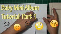 Bundle of Joy Baby Mini Album Tutorial Part 1