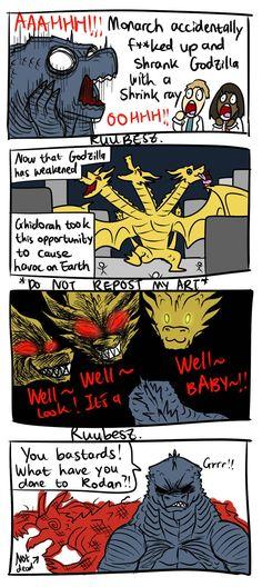 All Godzilla Monsters, Godzilla Comics, Godzilla 2, Kamen Rider Ryuki, King Kong, Funny Comics, Memes, My Arts, Nissan Gt