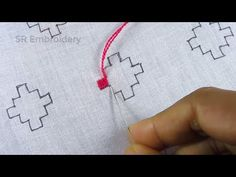 Hand embroidery,All over design balochi embroidery for dress,Balochi stitch Hand Embroidery Patterns Flowers, Hand Embroidery Videos, Hand Embroidery Tutorial, Hand Work Embroidery, Hand Embroidery Designs, Kasuti Embroidery, Embroidery Stitches, Holiday Crochet Patterns, Kutch Work Designs
