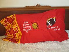 UNIVERSITY OF SOUTHERN CALIFORNIA Football College Pillowcase…