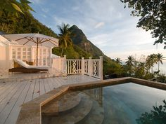 The deck at sunset by Graham Gibson, via Flickr