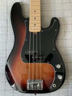 [SALE!] $438.33 Fender Player Series Precision Bass 3-Tone Sunburst Maple w/hardcase Fender Precision Bass, Fender Bass, Bass Guitars For Sale, Fender Squier, Instruments, Music, Pictures, Musica, Musik