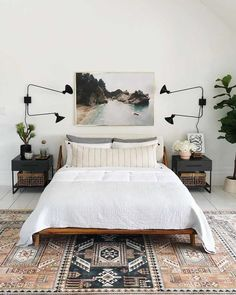 Home Renovation, Home Remodeling, Architecture Renovation, Home Bedroom, Bedroom Furniture, Bedroom Decor, Bedroom Ideas, West Elm Bedroom, Master Bedrooms