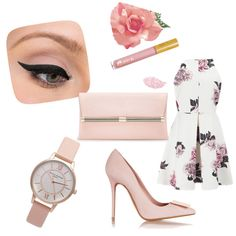 Pink Roses by osrodzari on Polyvore featuring polyvore fashion style Cameo Acne Studios Diane Von Furstenberg Topshop LORAC