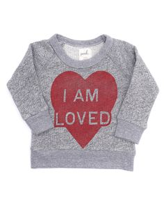 Baby I Am Loved Crew - View All - Shop - baby girls | Peek Kids Clothing