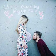 Annoncez votre grossesse à vos proches d'une manière fun et original