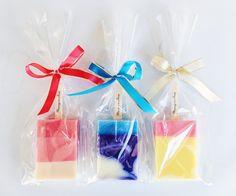 【 HAPPY ICECANDY SOAP 10SET】 みんなに気持ちを伝えたい!結婚式のプチギフト、パーティーのお土産に、キュートなアイスキャンディ型ソープの10本セットです。