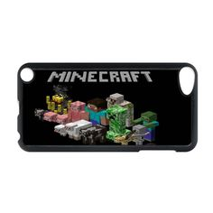 iPod Touch 5 Durable Hard Case Design With UK7 minecraft