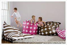 fun-  giant floor pillows