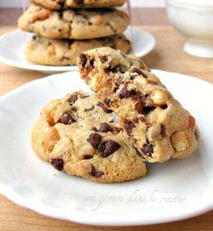 Pretzel & Butterscotch Chocolate Chip Cookies from @Valerie » une gamine