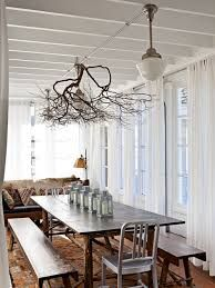 Image result for over a table branch decoration with light