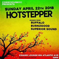 TONIGHT AFRO-CARIBBEAN TUNES  Hot Stepper Sunday FOOD & GRUB AVAILABLE ...... .... .. . Large up our DJs  @mystar_buffalo @djfyahrama @djclubkilla1 @djnelly03 @djepidemik LARGE UP OUR BRAND #growforwardnow @consciousnyc  @maxresultsnow . .. .... ...... .... .. . . . . #growforwardnow #party  #maxresultsnow #dancehall #music #afrobeats #consciousnyc #dancing #tonight #dope #dancer #business #tunes #nyc #sunday #hustle #smile #influencer #ilovemusic #kinanmlounge #dancer #exercise #brooklyn…