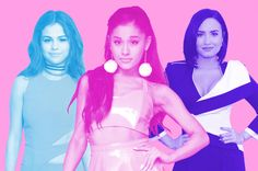 They're millennial pop stars -- Gomez and Grande are 22, Lovato is 23 -- who launched their careers on tween TV and now rule the Hot 100 and social media. But only one checks the following four boxes...