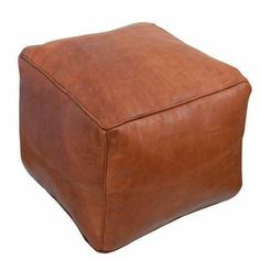 Looking for Baba Souk Moroccan Square Leather Pouf - Tan ? Check out our picks for the Baba Souk Moroccan Square Leather Pouf - Tan from the popular stores - all in one. Moroccan Decor Living Room, Living Room Pouf, Living Rooms, Moroccan Pouffe, Moroccan Leather Pouf, Pouf Cuir, Leather Pouf Ottoman, Pouf Footstool, Square Pouf