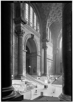 Pennsylvania Station (demolished), by McKim, Mead & White, NYC
